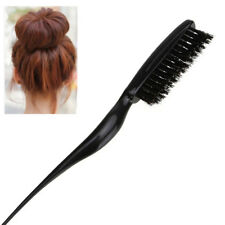 Hair Brush Boar Bristle Beard Brush Comb Detangling Straightening Styling Tools