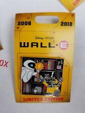 Disney Parks Disneyland Wall-E Eve 10th Anniversary Movie Pin LE 2000