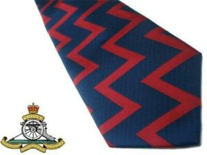 ROYAL ARTILLERY TIE R.A. REGIMENTAL TIE COLOURS BRITISH ARMY THE GUNNERS