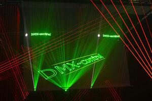 3m x 3m Lasergaze weiß, konfektioniert, Lasershow, Video, Beamer Leinwand