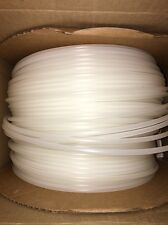 """1/4"""" OD Natural Poly Tubing. 20' Lengths. Gas Water Tube Beverage Soda"""