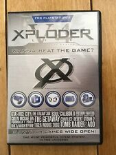 Xploder V4 Lite Cheat System CD for PlayStation (PS1, PS2) RARE