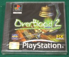 Videogame OVERBLOOD 2 Playstation 1 PS1 PSX PSONE NEW&SEALED