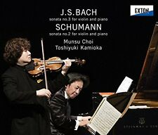 CHOI MUNSU TOSHIYUKI KAMIOKA-BACH: SONATA FOR VIOLIN & PIANO NO.3-JAPAN CD G88