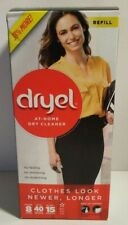 Dryel At Home Dry Cleaner Refill Kit - 1 booster spray, 8 cloths. New & Sealed