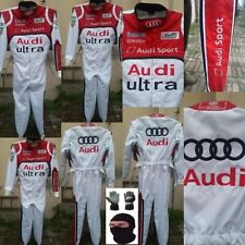 AUDI ULTRA GO KART RACE SUIT CIK/FIA LEVEL 2 APPROVED WITH FREE GIFTS INCLUDED