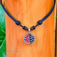 Surfer Necklace Leather Men Women Surf Jewelery Goa