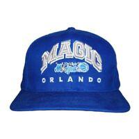 NBA Orlando Magic Boxseat Cotton Snapback Hat Cap - Blue