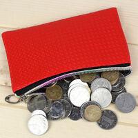 Women Girl Purse Lady Wallet Phone Coin Clutch Bag With Wrist Metal Zipper Soft