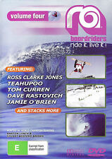 RA Boardriders Ride it. Live it! (DVD) Volume Four *NEW & SEALED*