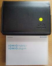 HYUNDAI IONIQ HYBRID / PLUG-IN OWNERS MANUAL HANDBOOK WALLET 2016-2018 # C-732