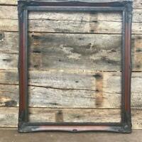 "Vintage Wood Ornate Picture Frame for ~ 21-1/2""x20-1/2"""
