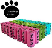 PET N PET Dog Poop Bags Earth-Friendly Multi Color Leak-Proof Poop Bags for Dogs