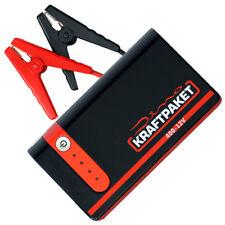 Dino KRAFTPAKET Powerbank 400A 12V Mobile Starthilfe Gerät mit Zubehör 136103