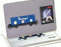 "Märklin H0 94249 Containerwagen ""Blausiegel"" in Blechdose - NEU + OVP"