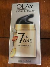 Olay Total Effects 7 in One Skin Moisturizer Face Neck Day Night 1.7 fl Oz New