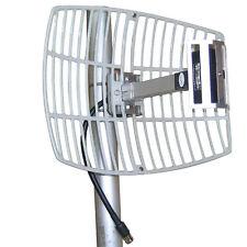 Hot Long Range 17dBi 2.4G WIFI Wireless Grid Parabolic Antenna N Female