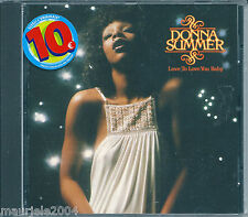 Donna Summer. Love to Love You Baby (1975) CD NUOVO Full of Emptiness. Pandora's