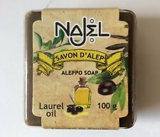 Najel Traditional Aleppo Soap Laurel oil 100g Bio Ecocert