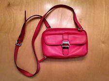 NEW Tignanello Coral Leather Purse Handbag
