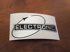 Lambretta GP200 Electronic legshield sticker