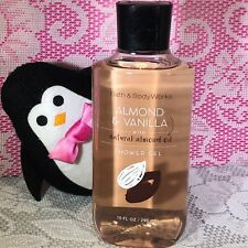 Bath and Body Works Almond and Vanilla Shower Gel Body Wash Soap