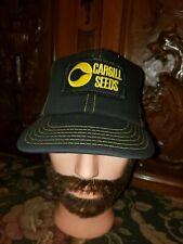 "Vintage ""CARGILL SEEDS"" Adjustable Trucker Hat Cap  Made In USA"