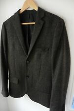 TOPMAN SMART BROWN WOOL RICH BLAZER JACKET SIZE UK 38 IMMACULATE