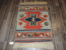3x4ft. Handmade Turkish Caucasian Wool Rug