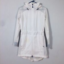 Kuhl Jetstream White Rain Packable Outdoor Trench Coat Women Size Small