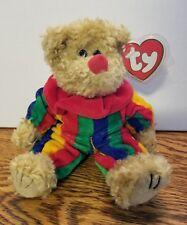 RARE!TY Piccadilly Bear *ERROR* with Azalea Bunny Hang Tag-Beanie Baby