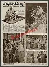 """Reportaje fotográfico Hans Albers """"Sargento Berry"""" de la película aventura Tobis cine Berlín 1938"""