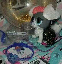 L.O.L. Surprise! Doggie Stardust. Fluffy Pets, Winter Disco, glitter globe *New*