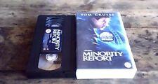 MINORITY REPORT UK PAL VIS VIDEO 2002 Spielberg Philip K. Dick Tom Cruise