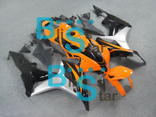 Orange Glossy INJECTION Fairing Kit Set Fit HONDA CBR600RR 2007-2008 072 A3