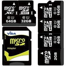 4GB 8GB 16GB Micro SD SDHC Memory Card Class 10 + SD Adapter For GARMIN Sat Navi