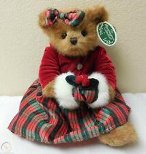 "Bearington Bears ""Harper Holiday"" 14"" Plush Bear- #173122- New- 2010 - Retired"