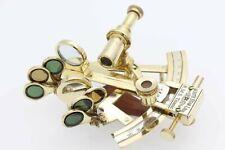 "Titanic Memorabilia Brass 4"" Sextant-White Star Line-Solid Brass Sextant"