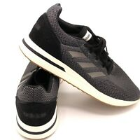 Adidas Mens Run70s Carbon Gray/Cloud White Running Shoes Size 12