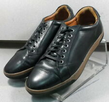 252801 WT38 Men's Shoes Size 10 M Black Leather Johnston Murphy Walk Test