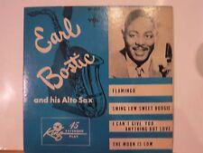 EARL BOSTIC & HIS AL;TO SAX VOL 1  KING E/P P/S # 200 BEAUTIFUL DISC & SLEEVE