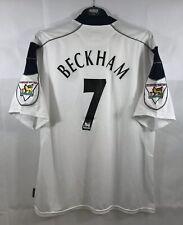 Manchester United Beckham 7 Away Football Shirt 2000/01 Adults XXL Umbro B260