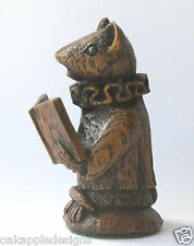 Church Mouse Choir Singing Ornament Chorister Mice Gift Collectable Figurine Oak