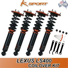 Lexus LS400 Ksport Coilovers Full Kit Adjustable Coilover Suspension Upgrade