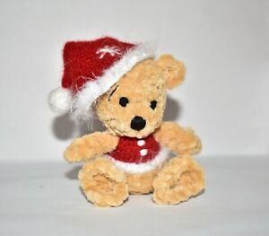 Handmade Artist Bear Toy Crochet Christmas Amigurumi Stuffed Soft Knitted Toy