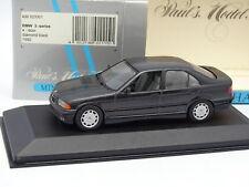 Minichamps 1/43 - BMW Serie 3 E36 Diamante Black In metallo