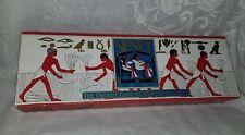 Vintage Senet Board Game of Egyptian Pharoahs