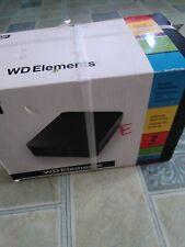 WD Western Digital Elements 2TB WDBAAU0020HBK-NESN  USB External Hard Disk Drive