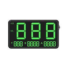Digital Car GPS Head-Up Display KMH/MPH Alarm Speedometer For Car Motorcycles