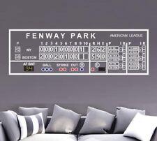 Boston Red Sox Fenway Scoreboard